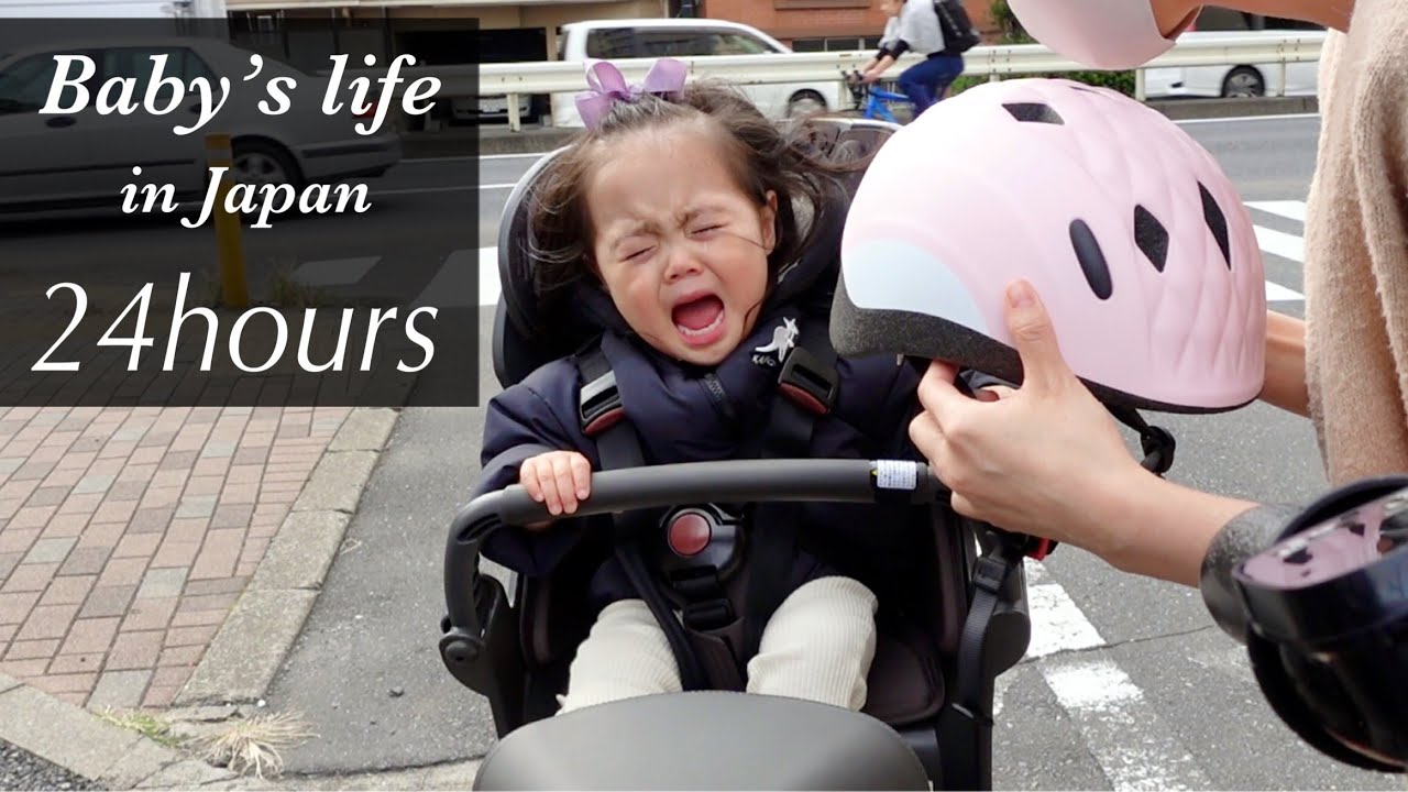 Baby's life in Japan | 24hours | Episode 2