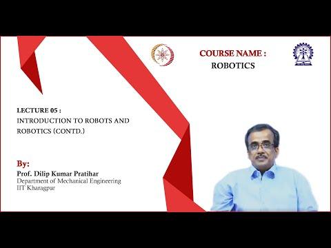 NPTEL :: Mechanical Engineering - NOC:Robotics