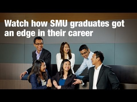 Graduates sum up their SMU experience & share real world perspectives