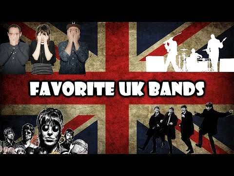 7 FAVORITE BRITISH BANDS