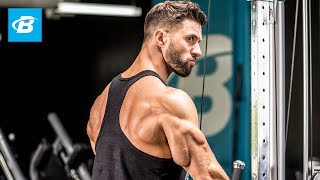 "Triceps Blasting Workout | Julian ""The Quad Guy"" Smith"