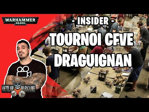 V-log Tournoi CFVE 2vs2 Draguignan Warhammer 40000