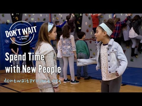 """Spend Time With New People"" - Antibullying PSA Saratoga, NY - DON'T WAIT to UnMake™"
