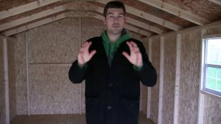 10 X 16 Tiny Home - Off Grid House Framework For Just $2000