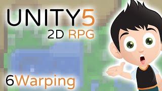 2D RPG Warping - Unity3D