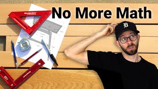 Taking Math Out Of Woodworking | 6 Tips and Tricks to Eliminate Math & Measuring from your Projects!