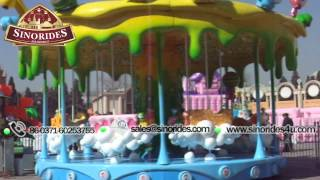 Candy carousel amusement park rides for kids for sale