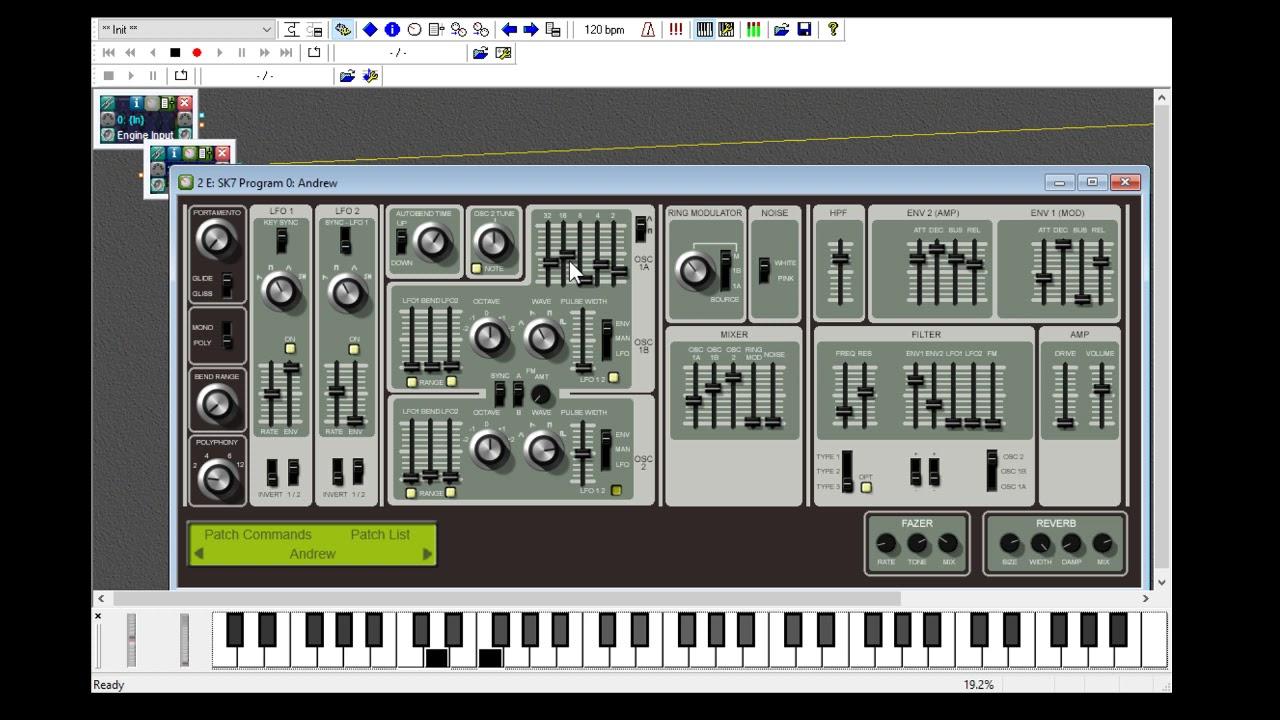 Krakli SK7: Roland SH-7 synth reimagined in a free plugin