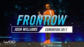 Josh Williams | FrontRow | World Of Dance Edmonton Qualifier 2017 | #WODEDM17
