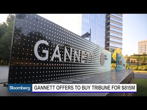 Why Gannett Wants the Chicago Tribune and L.A. Times