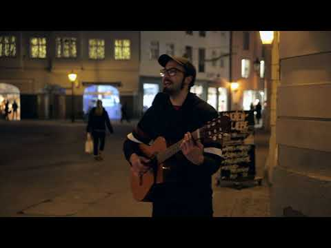 Amazing street performer -  Live Acoustic Guitar by Cristián Alejandro from Chile
