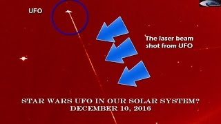 Star Wars UFO in our solar system? December 10, 2016