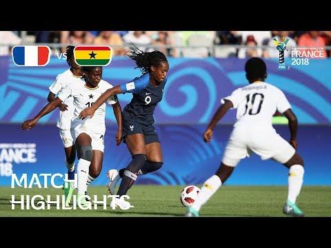 France v. Ghana - FIFA U-20 Women's World Cup France 2018- Match 1