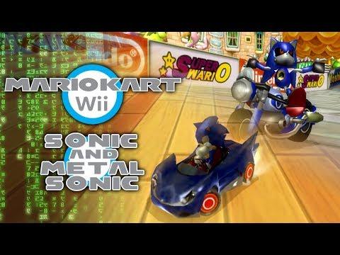 Mario Kart Wii: Sonic & Metal Sonic