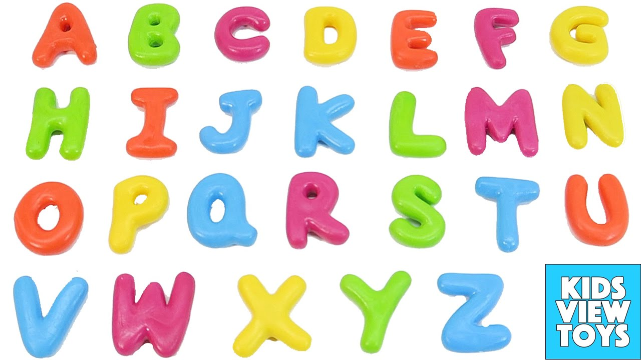 Learn The Alphabet And Abc Letters With Fun Toys Youtube