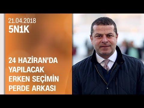 24 Haziran'da yapılacak erken seçimin perde arkası - 5N1K 21.04.2018 Cumartesi