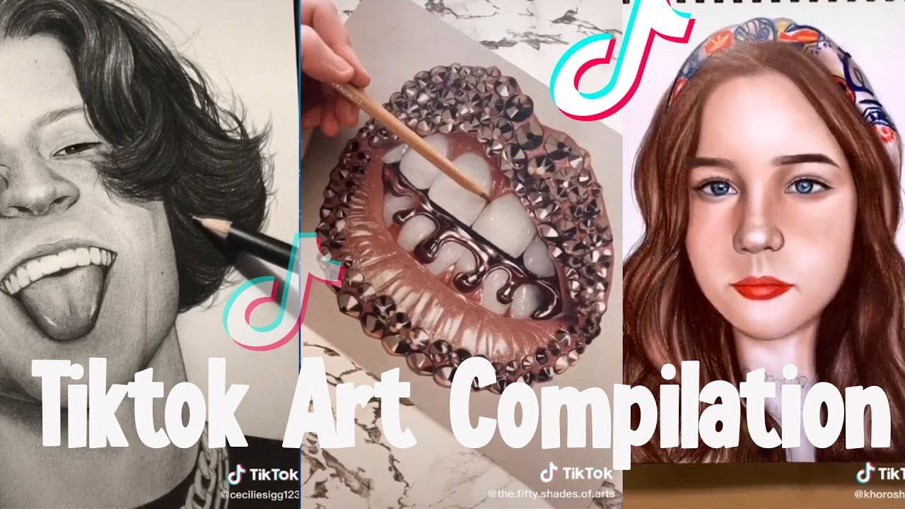 TIKTOK ART COMPILATION #26