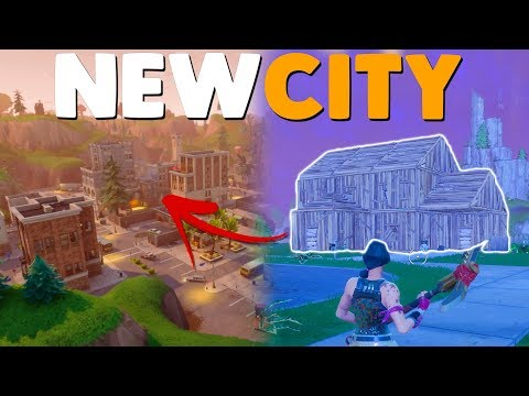 BUILDING THE NEW CITY UPDATE | Fortnite Battle Royale