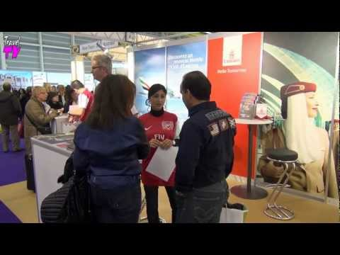 Travel Fair Vacances 2013, Genève Palexpo, Suisse - Travel Channel Slovakia