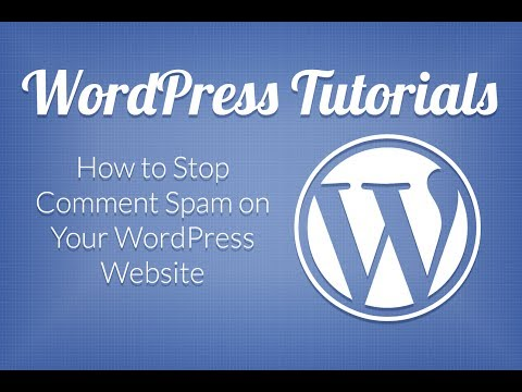 How to Stop Spam Comments on Your WordPress Blog
