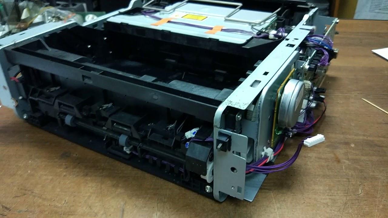 Richo SP100 ошибка принтера