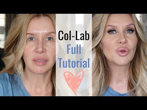 Col-Lab Makeup~Full Tutorial and First Impressions