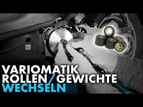 Anleitung: Roller Variorollen / Variogewichte wechseln