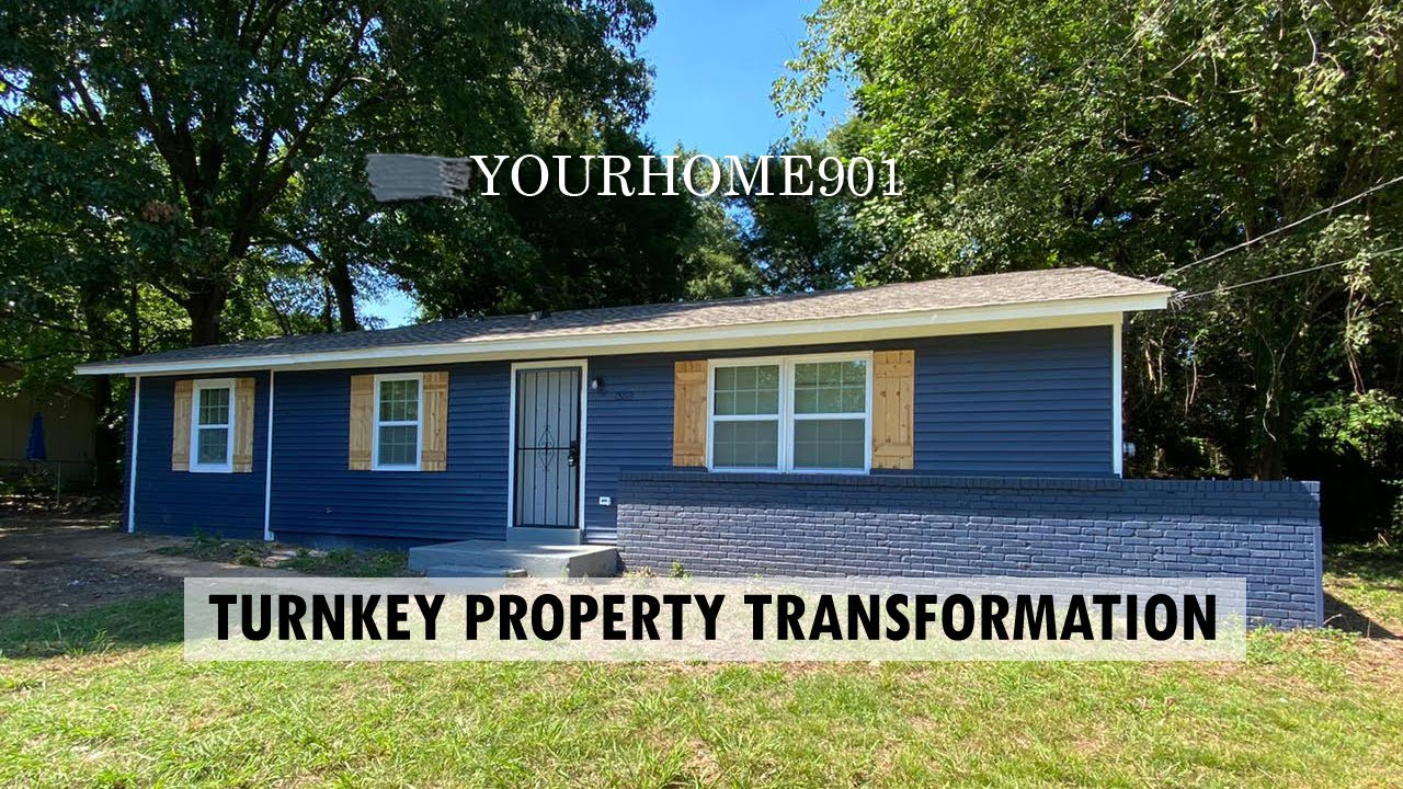 Memphis Turnkey: House Transformation