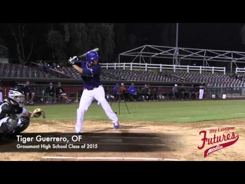 Tiger Guerrero Prospect Video, OF, Grossmont High School Class of 2015