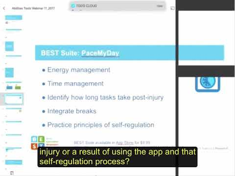 BEST Suite Success: Apps for Increasing Self-Regulation and Productivity at Home, School, & Work