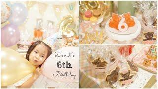 ♥ Donut's 6th Birthday ♥ Phần 1: Làm Kẹo Gummy Bears & Bánh Sugar Cookies Đầu Gấu | mattalehang