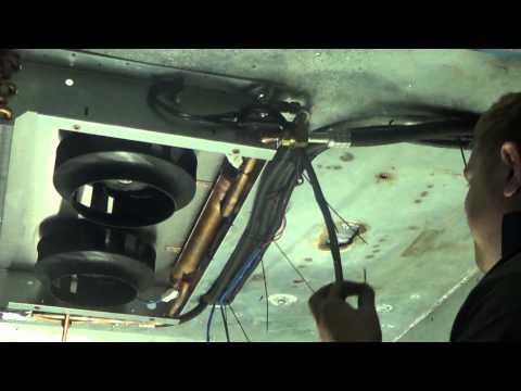 Установка рефрижератора Global Freeze GF25H R404 на автомобиль Peugeot Boxer