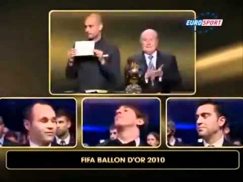 Lionel Messi FIFA Ballon d'Or  2009, 2010, 2011