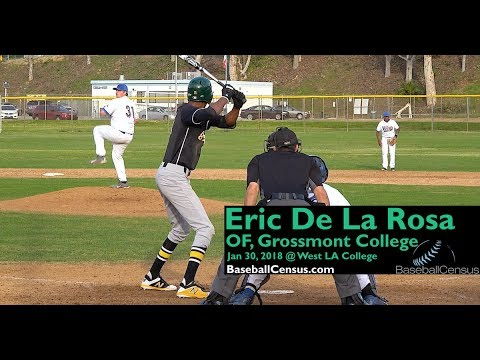 Eric De La Rosa, OF, Grossmont College
