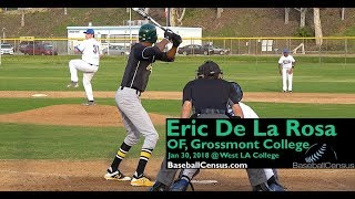 Eric De La Rosa, OF, Grossmont College