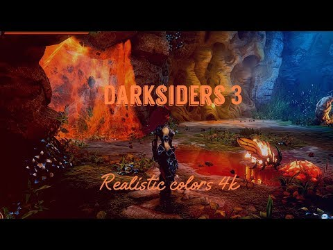 The beauty of the game world Darksiders 3 [THE Nether] Realistic colors 4k