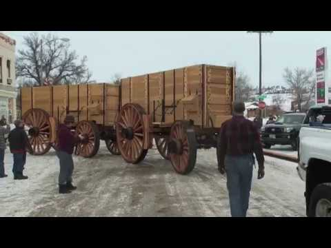 New Borax Wagons | 8300# Wagons Roll Out the First Time!