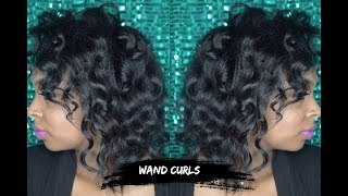 Wand Curls On Natural Hair