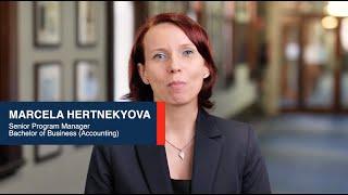Marcela Hertnekyova (Program Manager) - Bachelor of Business (Accounting)
