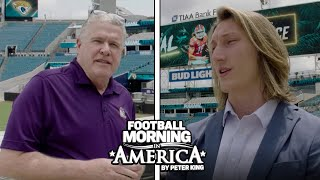 Trevor Lawrence 'still expects to win' with Jaguars (FULL INTERVIEW) | Peter King | NBC Sports