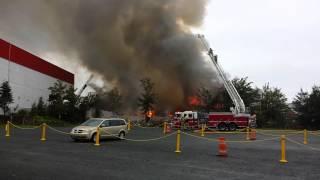 Fire on Gottingen Street, Halifax