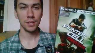 Игры с Александром Splinter Cell Conviction DVD BOX