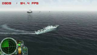 PT-Boats - PC gameplay - 1st training mission - Recorded on a 3870 at 1280X720   2XAA