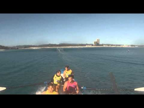 Northcliffe BOMs Surfboat Training (guest appearance by the Northcliffe Menace).