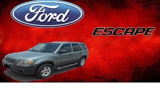 La historia de la Ford Escape // mariner // tribute//
