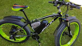 Overview of the Rich Bit RT-022 48V 1000W Fat E-Bike