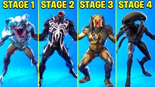 Legendary Fortnite Dances & Emotes Evolved #12 (Xeno Menace, Burst Case Scenario,Xenomorph Built-in)