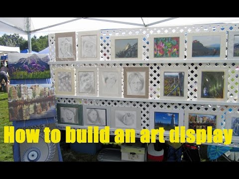 How to Build a Display for Art and Craft Shows