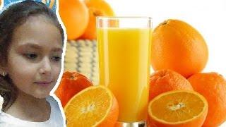 Elif Portakal Suyu Sıkıyor, Eğlenceli çocuk Videosu