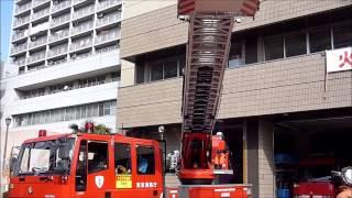 IVECO=MAGIRUSの超速はしご車 東京消防庁